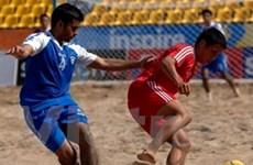 Phú Yên, Thuận An vào chung kết bóng đá bãi biển