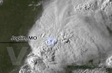 Ảnh Joplin trước và sau trận lốc xoáy kinh hoàng
