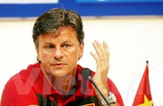 Goetz bắt đầu chiến dịch tìm vàng ở SEA Games 26