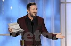 MC Gervais tiết chế tại lễ trao giải Quả cầu Vàng