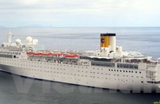 Tàu du lịch hạng sang Italy lại cháy tại Seychelles