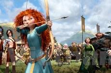 """""""Brave"""" của Pixar bị hai phim mới ra rạp qua mặt"""