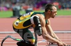 """""""Người không chân"""" Pistorius đi vào lịch sử Olympic"""