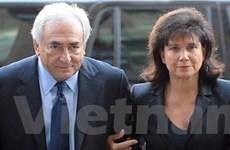 Bà Sinclair xác nhận ly thân với ông Strauss-Kahn