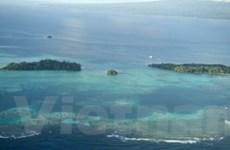 Cảnh tan hoang sau sóng thần ở Thái Bình Dương