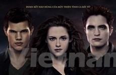 Phần cuối Twilight càn quét tới 7 giải Mâm xôi vàng