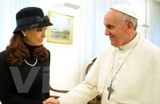 Nhiều lãnh đạo dự lễ nhậm chức của Giáo hoàng