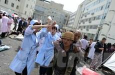 Đã có 157 người chết trong vụ động đất Tứ Xuyên
