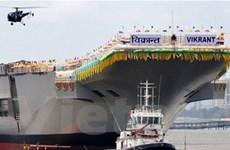 Ấn Độ hạ thủy tàu sân bay INS Vikrant tự chế tạo