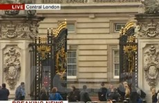 Anh bắt kẻ cầm dao định đột nhập Điện Buckingham
