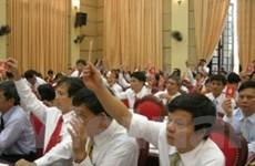 Trực tiếp bầu Bí thư: Trọng trách với người đứng đầu