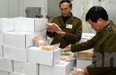 Thu giữ gần 1,3 tấn hải sản cao cấp quá hạn sử dụng