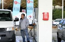 Giá dầu tiếp tục tăng lên trên 77 USD mỗi thùng