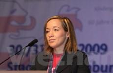 Đức bổ nhiệm một nữ bộ trưởng trẻ nhất nội các