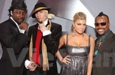 Nhóm hiphop Black Eyed Peas lưu diễn thế giới