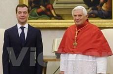 Nga và Vatican lập quan hệ ngoại giao chính thức