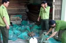 Phá 2 điểm buôn bán động vật hoang dã trái phép