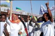 Tình hình ở Sudan căng thẳng trở lại do biểu tình