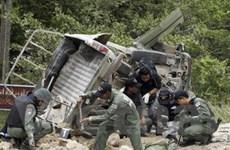 Nổ bom ở Nam Thái Lan, 2 binh sĩ thiệt mạng