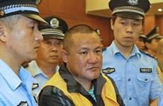 Trung Quốc thi hành án tử hình 7 trùm xã hội đen