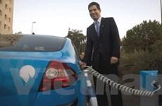 Xây mạng lưới ôtô điện đầu tiên trên thế giới