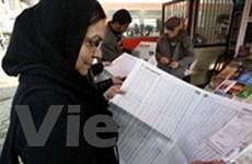 Cho ứng viên quan hệ với đảng Baath tranh cử