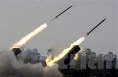 Quân đội Campuchia diễn tập bắn thử 200 rocket