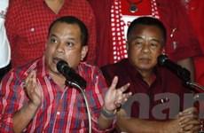 """Phe """"áo đỏ"""" đòi đối thoại với Thủ tướng Abhisit"""