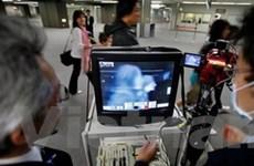 Nhật dùng máy quét toàn thân tại sân bay Narita
