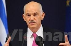 Hy Lạp chính thức đề nghị EU trợ giúp tài chính