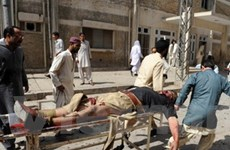 Đánh bom ở Pakistan làm gần 60 người thương vong