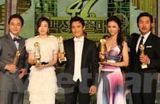 Thang Duy vượt mỹ nhân Hàn giành giải Baeksang