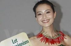 """Sao Hoa ngữ thay chân dài gốc Việt """"bảo vệ động vật"""""""
