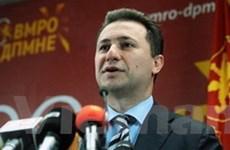 QH Macedonia thông qua thành phần chính phủ mới