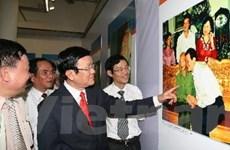 Sức hút lạ kỳ từ cuộc triển lãm ảnh về Đại tướng