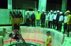 Tổ máy số 2 của Thủy điện Sử Pán 2 đã phát điện