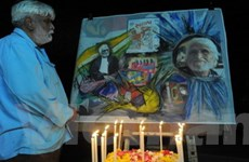 Sưu tập tranh của M.F. Husain bán giá 4,7 triệu USD