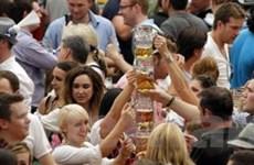 Khai mạc lễ hội bia Oktoberfest lần thứ 178 ở Đức