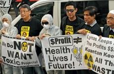 Người Malaysia biểu tình phản đối dự án đất hiếm