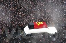 Triều Tiên cử hành lễ truy điệu ông Kim Jong Il
