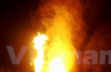 Ai Cập: Nổ ống dẫn dầu, gần 20 người thương vong