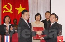 Hợp tác TTXVN và PRD Thái Lan xây dựng ASEAN