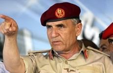 Tổng tham mưu trưởng quân đội Lybia vừa từ chức
