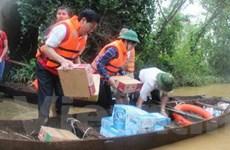 Trên 3 tỷ đồng ủng hộ người dân bị lũ lụt ở Hà Tĩnh