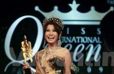 Người đẹp chuyển giới Nhật đăng quang hoa hậu