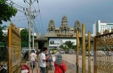 Trung Quốc xây đường truyền tải điện ở Campuchia