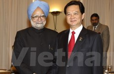 Thủ tướng Nguyễn Tấn Dũng tiếp Thủ tướng Ấn Độ