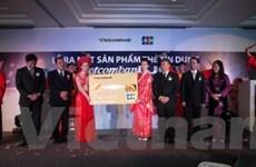 Ra mắt thẻ tín dụng quốc tế Vietcombank JCB