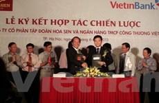 VietinBank cấp tín dụng 2.500 tỷ cho Hoa Sen Group
