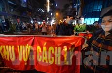 Dịch COVID-19: Hà Nội gỡ lệnh cách ly đối với khu Trúc Bạch